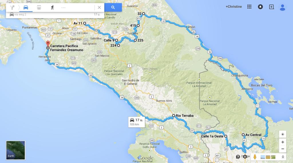 Costa Rica - Panama deel 1